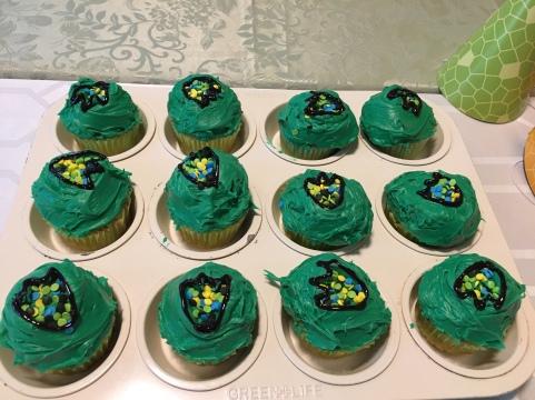 Dino cupcakes 😋