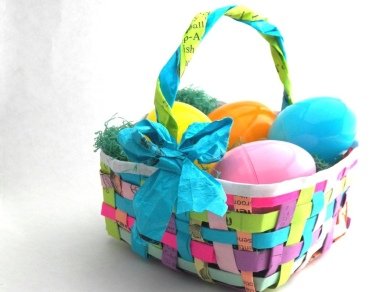 ...I might try my hand at a recycled basket once my littles are big enough for them! 🙌 Stay tuned! 😘